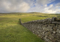 Brecon Beacons Wall. Wall in Brecon Beacons, South Wales, UK Stock Photo