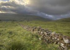 Brecon Beacons Wall Stock Photography