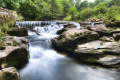 Brecon beacons waterfall Royalty Free Stock Photography