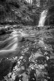 Brecon Beacons Waterfall Perspective Royalty Free Stock Image