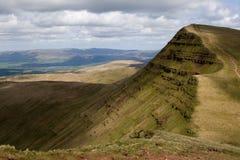 Brecon bebakent Nationaal Park Stock Foto's