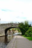 brecon canal in Wales Stock Photography