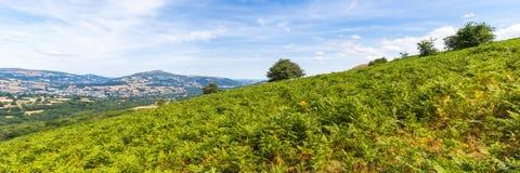Brecon erleuchtet Naional-Park Lizenzfreies Stockbild