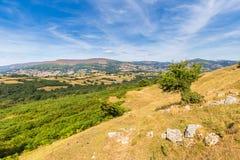 Brecon erleuchtet Naional-Park Lizenzfreie Stockbilder