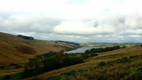 Brecon guida il parco nazionale in Galles Fotografia Stock
