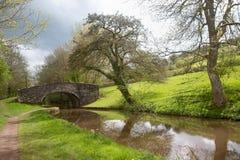 Brecon kanal Royaltyfri Foto