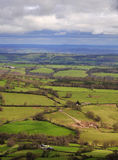 Brecon Panoramic Royalty Free Stock Photos