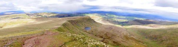 Brecon panoramisch Stockfotos