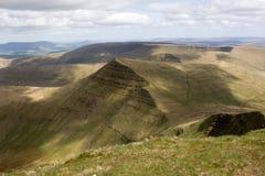 Brecon señala con almenara el parque nacional Fotos de archivo libres de regalías