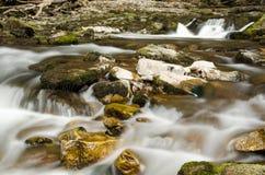 Brecon vattenfall 4 Arkivbild