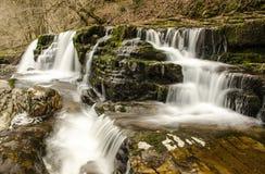 Brecon vattenfall 3 Fotografering för Bildbyråer