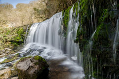 Brecon Waterfall 6 Stock Photo