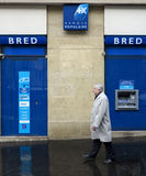 BRED Banque Populaire. Bank branch in Paris, France Royalty Free Stock Images