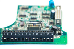 Bred elektronik Royaltyfri Bild