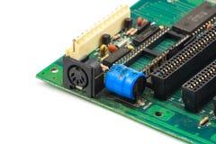 Bred elektronikcircute Royaltyfri Fotografi