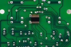 Bred elektronikcircute Royaltyfri Bild