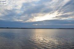 Bred flod Royaltyfri Fotografi