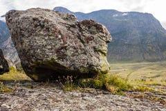 Bred flodmynning Chulcha Arkivbilder