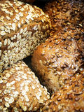 Bred with grains Stock Photography