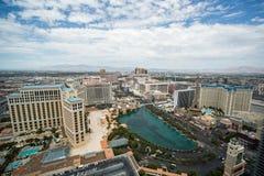 Bred sikt för Las Vegas remsadag Arkivfoto