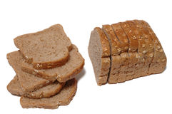 Bred slices Stock Photography