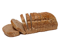 Bred slices royalty free stock photography