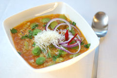 bred soup för bönor Royaltyfri Fotografi