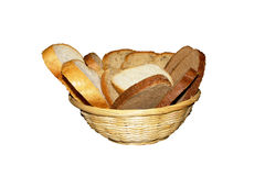 Bred in straw dish Stock Image