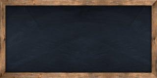 Bred svart tavla Arkivfoto