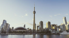 Bred Toronto horisont Royaltyfria Foton