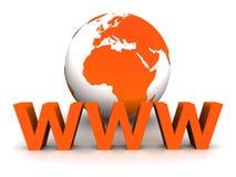 bred värld för rengöringsduk Arkivbild