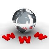 bred värld för rengöringsduk 3 Royaltyfri Fotografi