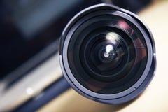 Bred vinkel pro-Lens Royaltyfria Foton