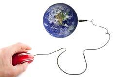 bred värld för rengöringsduk Fotografering för Bildbyråer