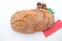 Bred with walnuts Royalty Free Stock Photos