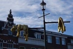 Breda centrum fotografia stock