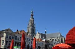Breda in den Niederlanden Stockbilder