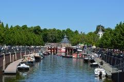 Breda in den Niederlanden stockfotografie