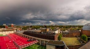 Breda, Holland CityScape immagini stock libere da diritti
