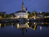 Breda at night Stock Photo