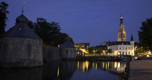 Breda at night Stock Image