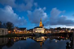 Breda at night Royalty Free Stock Images