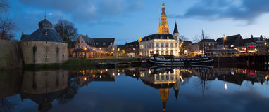 Breda night Royalty Free Stock Photo