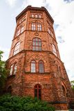 Bredablick tower. At Skansen, the first open-air museum and zoo, located on the island Djurgarden in Stockholm, Sweden Stock Photos