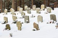 Bredakrabegraafplaats Stock Afbeeldingen