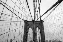 Brede de Brug van Brooklyn royalty-vrije stock foto
