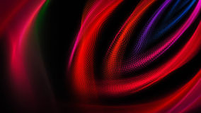 Brede gekleurde stromen van licht Royalty-vrije Stock Foto's