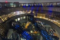 Brede hoekfoto van de bovenkant van Umeda-de Hemelbouw in Osaka Japa Royalty-vrije Stock Afbeeldingen