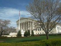Brede mening van ons opperst hof in Washington gelijkstroom stock afbeeldingen