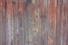 Brede Textuur van Planking van de schuur de Houten Muur Oude Stevige Houten Latjes Rustieke Sjofele Horizontale Achtergrond De ve Royalty-vrije Stock Foto's